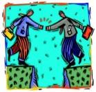 Crash Course, Collaborative Comm, 2 figures handshake